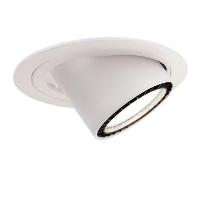 Светильник даунлайт выдвижной Aberlicht 35W DLR-35/24 WW технический светДаунлайты<br>Великолепный выдвижной и поворотный даунлайт ABERLICHT DLR-35/24 обеспечит идеальное освещение для вашего магазина, офиса или помещения свободного назначения.  В основе светильника использованы светодиоды CREE мощностью 35 Вт, которые являются лучшими в своем классе, что позволяет уверенно сказать о качестве и надежности данного светильника. Выдвижной потолочный светильник позволяет максимально удобно организовать торговое освещение в помещении магазина или шоу рума.  Особенность модели залючается в прекрасном дизайнерском и технически функциональном использовании корпуса. Вы можете сами изменять направление свечения, так как оборот светильника составляет 350 градусов, а выдвижной корпус светильника сделает интерьер более совершенным . Теперь вы сможете изменять расположение товарных групп в магазине не задумываясь о том, где расположены светильники.  Корпус потолочного светодиодного светильника - литой алюминий. Литой радиатор для идеального отвода тепла от диода, рефлекторы выполнены из полимера с зеркальным покрытием последнего поколения, что увеличивает КПД отражателя до 95%.<br><br>Тип лампы: LED<br>Тип цоколя: LED<br>MAX мощность ламп, Вт: 35<br>Диаметр, мм мм: 168<br>Диаметр врезного отверстия, мм: 160<br>Высота, мм: 180<br>Цвет арматуры: белый/черный