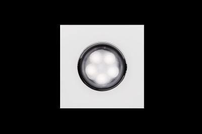 Светильник светодиодный ABERLICHT WW DLS-5/30 WSДаунлайты<br>Стильный<br>  точечный потолочный светильник мощностью 5 Вт.Соизмерим с галогенным<br>  светильником 30 Вт.<br>LED.220<br>  В/5Вт/310Лм/30°/3000-4000к/IP20<br>