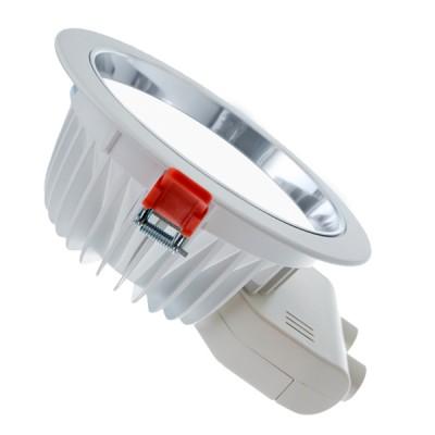 Светильник даунлайт Aberlicht 30W DL-30/85 WW технический светДаунлайты<br>Светодиодный встраиваемый светильник, матовый рассеиватель 85 градусов. Нейтральный белый цвет свечения, без искажения цветопередачи и добавления различных цветовых оттенков. Идеальная замена люминесцентных светильников мощностью 35-60 Вт и светильников МГЛ 35 Вт.<br>Основное предназначение: освещение коммерческих и бытовых помещений. В комплекте: светильник, драйвер, крепление светильника. Устанавливается в потолки типа: армстронг, гипсокартон, реечный потолок, грильято.<br><br>Помощь в составлении технических проектов по свету бесплатно! dde@biosvet.ru<br><br>Тип лампы: LED<br>MAX мощность ламп, Вт: 30<br>Размеры: 230 x 94.5<br>Диаметр врезного отверстия, мм: 200<br>Цвет арматуры: белый