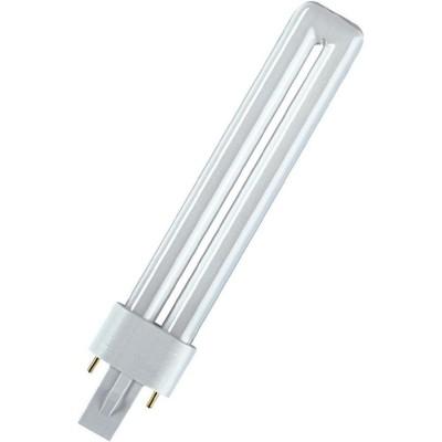 OSRAM DULUX S 11W/41-827 G23Спираль 2U<br>В интернет-магазине «Светодом» можно купить не только люстры и светильники, но и лампочки. В нашем каталоге представлены светодиодные, галогенные, энергосберегающие модели и лампы накаливания. В ассортименте имеются изделия разной мощности, поэтому у нас Вы сможете приобрести все необходимое для освещения.   Лампа OSRAM DULUX S 11W/41-827 G23 обеспечит отличное качество освещения. При покупке ознакомьтесь с параметрами в разделе «Характеристики», чтобы не ошибиться в выборе. Там же указано, для каких осветительных приборов Вы можете использовать лампу OSRAM DULUX S 11W/41-827 G23OSRAM DULUX S 11W/41-827 G23.   Для оформления покупки воспользуйтесь «Корзиной». При наличии вопросов Вы можете позвонить нашим менеджерам по одному из контактных номеров. Мы доставляем заказы в Москву, Екатеринбург и другие города России.<br><br>Цветовая t, К: 2700<br>Тип лампы: Энергосбережения<br>Тип цоколя: G23<br>MAX мощность ламп, Вт: 11