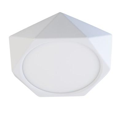 Светильник De Markt 702011101Круглые<br>Компактный светильник из коллекции «Стаут» подойдет для интерьеров в самых разных стилевых решениях: от авангарда и минимализма до неоклассики и модерна. Острые грани и прямые линии создают выверенную точность и графичность технологичных моделей, а белый цвет разбавляет и освежает строгую композицию. В качестве источников света выступают светодиоды. Светильник идеально подойдет для направленного зонального освещения в спальне, гостиной, кухне, прихожей и даже в ванной (в достаточной удаленности от источника влаги).<br><br>Тип лампы: LED<br>Диаметр, мм мм: 195<br>Высота, мм: 40