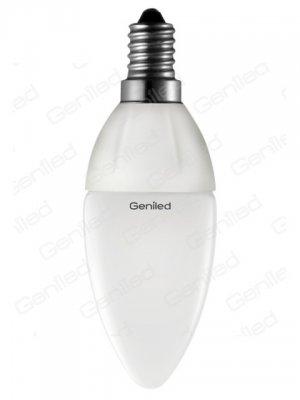 Светодиодная лампа Geniled Е14 С37 5W 4200KВ виде свечи<br>В интернет-магазине «Светодом» можно купить не только люстры и светильники, но и лампочки. В нашем каталоге представлены светодиодные, галогенные, энергосберегающие модели и лампы накаливания. В ассортименте имеются изделия разной мощности, поэтому у нас Вы сможете приобрести все необходимое для освещения.   Лампа Geniled Geniled 1148 обеспечит отличное качество освещения. При покупке ознакомьтесь с параметрами в разделе «Характеристики», чтобы не ошибиться в выборе. Там же указано, для каких осветительных приборов Вы можете использовать лампу Geniled Geniled 1148Geniled Geniled 1148.   Для оформления покупки воспользуйтесь «Корзиной». При наличии вопросов Вы можете позвонить нашим менеджерам по одному из контактных номеров. Мы доставляем заказы в Москву, Екатеринбург и другие города России.<br><br>Цветовая t, К: CW - холодный белый 4000 К<br>Тип лампы: LED - светодиодная<br>Тип цоколя: E14<br>MAX мощность ламп, Вт: 5<br>Диаметр, мм мм: 37<br>Высота, мм: 106