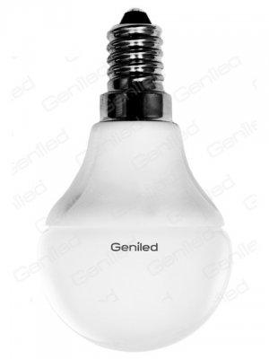 Светодиодная лампа Geniled Е14 G45 5W 4200KВ виде шарика<br>В интернет-магазине «Светодом» можно купить не только люстры и светильники, но и лампочки. В нашем каталоге представлены светодиодные, галогенные, энергосберегающие модели и лампы накаливания. В ассортименте имеются изделия разной мощности, поэтому у нас Вы сможете приобрести все необходимое для освещения.   Лампа Geniled Geniled 1176 обеспечит отличное качество освещения. При покупке ознакомьтесь с параметрами в разделе «Характеристики», чтобы не ошибиться в выборе. Там же указано, для каких осветительных приборов Вы можете использовать лампу Geniled Geniled 1176Geniled Geniled 1176.   Для оформления покупки воспользуйтесь «Корзиной». При наличии вопросов Вы можете позвонить нашим менеджерам по одному из контактных номеров. Мы доставляем заказы в Москву, Екатеринбург и другие города России.<br><br>Цветовая t, К: CW - холодный белый 4000 К<br>Тип лампы: LED - светодиодная<br>Тип цоколя: E14<br>MAX мощность ламп, Вт: 5<br>Диаметр, мм мм: 45<br>Высота, мм: 81