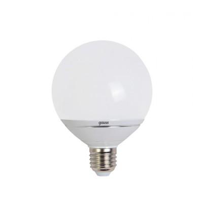 Лампа Gauss LED G95-dim 14W E27 4100K диммируемаяВ виде шара<br>В интернет-магазине «Светодом» можно купить не только люстры и светильники, но и лампочки. В нашем каталоге представлены светодиодные, галогенные, энергосберегающие модели и лампы накаливания. В ассортименте имеются изделия разной мощности, поэтому у нас Вы сможете приобрести все необходимое для освещения.   Лампа Gauss EB136102214-D G95 14W E27 4100K диммируемая обеспечит отличное качество освещения. При покупке ознакомьтесь с параметрами в разделе «Характеристики», чтобы не ошибиться в выборе. Там же указано, для каких осветительных приборов Вы можете использовать лампу Gauss EB136102214-D G95 14W E27 4100K диммируемаяGauss EB136102214-D G95 14W E27 4100K диммируемая.   Для оформления покупки воспользуйтесь «Корзиной». При наличии вопросов Вы можете позвонить нашим менеджерам по одному из контактных номеров. Мы доставляем заказы в Москву, Екатеринбург и другие города России.<br><br>Цветовая t, К: CW - холодный белый 4000 К<br>Тип лампы: LED - светодиодная<br>Тип цоколя: E27<br>MAX мощность ламп, Вт: 14<br>Диаметр, мм мм: 95<br>Высота, мм: 128