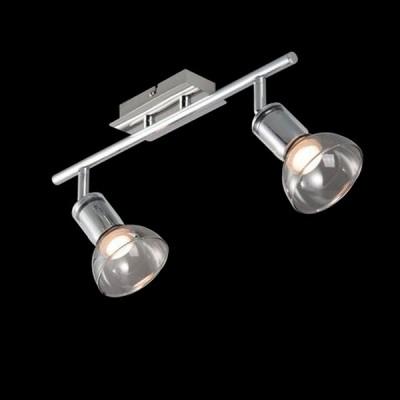 Светильник Maytoni ECO003-02-NДвойные<br>Светильники-споты – это оригинальные изделия с современным дизайном. Они позволяют не ограничивать свою фантазию при выборе освещения для интерьера. Такие модели обеспечивают достаточно качественный свет. Благодаря компактным размерам Вы можете использовать несколько спотов для одного помещения.  Интернет-магазин «Светодом» предлагает необычный светильник-спот Maytoni ECO003-02-N по привлекательной цене. Эта модель станет отличным дополнением к люстре, выполненной в том же стиле. Перед оформлением заказа изучите характеристики изделия.  Купить светильник-спот Maytoni ECO003-02-N в нашем онлайн-магазине Вы можете либо с помощью формы на сайте, либо по указанным выше телефонам. Обратите внимание, что у нас склады не только в Москве и Екатеринбурге, но и других городах России.<br><br>Тип лампы: LED<br>Тип цоколя: LED<br>Количество ламп: 2<br>Ширина, мм: 196<br>MAX мощность ламп, Вт: 4<br>Длина, мм: 394<br>Высота, мм: 150<br>Цвет арматуры: серебристый