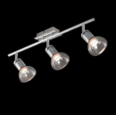 Светильник Maytoni ECO003-03-NТройные<br>Светильники-споты – это оригинальные изделия с современным дизайном. Они позволяют не ограничивать свою фантазию при выборе освещения для интерьера. Такие модели обеспечивают достаточно качественный свет. Благодаря компактным размерам Вы можете использовать несколько спотов для одного помещения. <br>Интернет-магазин «Светодом» предлагает необычный светильник-спот Maytoni ECO003-03-N по привлекательной цене. Эта модель станет отличным дополнением к люстре, выполненной в том же стиле. Перед оформлением заказа изучите характеристики изделия. <br>Купить светильник-спот Maytoni ECO003-03-N в нашем онлайн-магазине Вы можете либо с помощью формы на сайте, либо по указанным выше телефонам. Обратите внимание, что у нас склады не только в Москве и Екатеринбурге, но и других городах России.<br><br>S освещ. до, м2: 5<br>Тип лампы: Накаливания / энергосбережения / светодиодная<br>Тип цоколя: LED<br>Цвет арматуры: серебристый<br>Количество ламп: 3<br>Ширина, мм: 196<br>Длина, мм: 564<br>Высота, мм: 150<br>MAX мощность ламп, Вт: 4