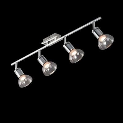 Светильник Maytoni ECO003-04-NС 4 лампами<br>Светильники-споты – это оригинальные изделия с современным дизайном. Они позволяют не ограничивать свою фантазию при выборе освещения для интерьера. Такие модели обеспечивают достаточно качественный свет. Благодаря компактным размерам Вы можете использовать несколько спотов для одного помещения.  Интернет-магазин «Светодом» предлагает необычный светильник-спот Maytoni ECO003-04-N по привлекательной цене. Эта модель станет отличным дополнением к люстре, выполненной в том же стиле. Перед оформлением заказа изучите характеристики изделия.  Купить светильник-спот Maytoni ECO003-04-N в нашем онлайн-магазине Вы можете либо с помощью формы на сайте, либо по указанным выше телефонам. Обратите внимание, что у нас склады не только в Москве и Екатеринбурге, но и других городах России.<br><br>Тип лампы: LED<br>Тип цоколя: LED<br>Количество ламп: 4<br>Ширина, мм: 196<br>MAX мощность ламп, Вт: 4<br>Длина, мм: 794<br>Высота, мм: 150<br>Цвет арматуры: серебристый