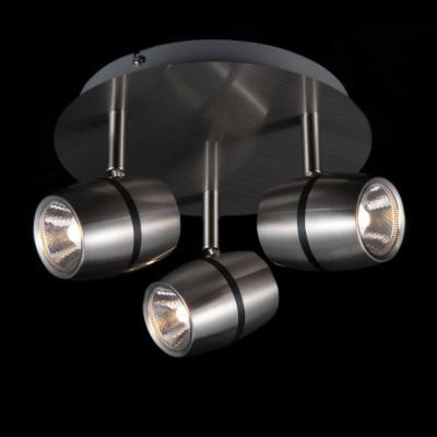 Светильник Maytoni ECO004-03-NТройные<br>Светильники-споты – это оригинальные изделия с современным дизайном. Они позволяют не ограничивать свою фантазию при выборе освещения для интерьера. Такие модели обеспечивают достаточно качественный свет. Благодаря компактным размерам Вы можете использовать несколько спотов для одного помещения.  Интернет-магазин «Светодом» предлагает необычный светильник-спот Maytoni ECO004-03-N по привлекательной цене. Эта модель станет отличным дополнением к люстре, выполненной в том же стиле. Перед оформлением заказа изучите характеристики изделия.  Купить светильник-спот Maytoni ECO004-03-N в нашем онлайн-магазине Вы можете либо с помощью формы на сайте, либо по указанным выше телефонам. Обратите внимание, что у нас склады не только в Москве и Екатеринбурге, но и других городах России.<br><br>Тип лампы: LED<br>Тип цоколя: LED<br>Количество ламп: 3<br>MAX мощность ламп, Вт: 5<br>Диаметр, мм мм: 220<br>Высота, мм: 160<br>Цвет арматуры: серебристый