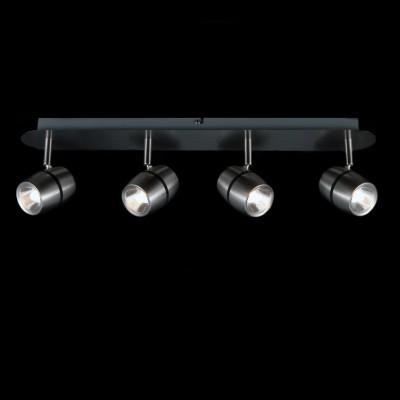 Светильник Maytoni ECO004-04-NС 4 лампами<br>Светильники-споты – это оригинальные изделия с современным дизайном. Они позволяют не ограничивать свою фантазию при выборе освещения для интерьера. Такие модели обеспечивают достаточно качественный свет. Благодаря компактным размерам Вы можете использовать несколько спотов для одного помещения.  Интернет-магазин «Светодом» предлагает необычный светильник-спот Maytoni ECO004-04-N по привлекательной цене. Эта модель станет отличным дополнением к люстре, выполненной в том же стиле. Перед оформлением заказа изучите характеристики изделия.  Купить светильник-спот Maytoni ECO004-04-N в нашем онлайн-магазине Вы можете либо с помощью формы на сайте, либо по указанным выше телефонам. Обратите внимание, что у нас склады не только в Москве и Екатеринбурге, но и других городах России.<br><br>Тип лампы: LED<br>Тип цоколя: LED<br>Количество ламп: 4<br>Ширина, мм: 160<br>MAX мощность ламп, Вт: 5<br>Длина, мм: 570<br>Высота, мм: 100<br>Цвет арматуры: серебристый
