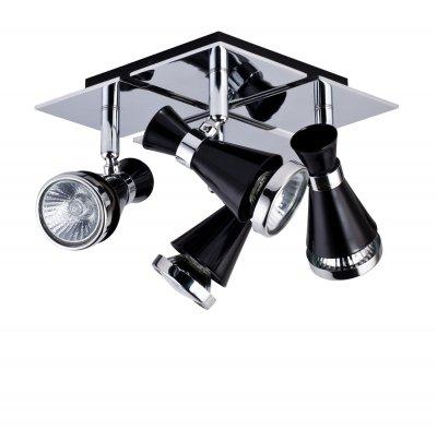 Светильинк поворотный спот Maytoni ECO007-04-B Chance - WhiteС 4 лампами<br>Светильники-споты – это оригинальные изделия с современным дизайном. Они позволяют не ограничивать свою фантазию при выборе освещения для интерьера. Такие модели обеспечивают достаточно качественный свет. Благодаря компактным размерам Вы можете использовать несколько спотов для одного помещения.  Интернет-магазин «Светодом» предлагает необычный светильник-спот Maytoni ECO007-04-B по привлекательной цене. Эта модель станет отличным дополнением к люстре, выполненной в том же стиле. Перед оформлением заказа изучите характеристики изделия.  Купить светильник-спот Maytoni ECO007-04-B в нашем онлайн-магазине Вы можете либо с помощью формы на сайте, либо по указанным выше телефонам. Обратите внимание, что у нас склады не только в Москве и Екатеринбурге, но и других городах России.<br><br>S освещ. до, м2: 10<br>Тип цоколя: GU10<br>Количество ламп: 4<br>Ширина, мм: 180<br>Глубина, мм: 260<br>Высота, мм: 108<br>MAX мощность ламп, Вт: 50