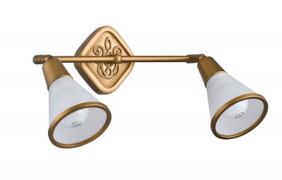 Светильинк поворотный спот Maytoni ECO008-02-G LutherДвойные<br>Светильники-споты – это оригинальные изделия с современным дизайном. Они позволяют не ограничивать свою фантазию при выборе освещения для интерьера. Такие модели обеспечивают достаточно качественный свет. Благодаря компактным размерам Вы можете использовать несколько спотов для одного помещения.  Интернет-магазин «Светодом» предлагает необычный светильник-спот Maytoni ECO008-02-G по привлекательной цене. Эта модель станет отличным дополнением к люстре, выполненной в том же стиле. Перед оформлением заказа изучите характеристики изделия.  Купить светильник-спот Maytoni ECO008-02-G в нашем онлайн-магазине Вы можете либо с помощью формы на сайте, либо по указанным выше телефонам. Обратите внимание, что у нас склады не только в Москве и Екатеринбурге, но и других городах России.<br><br>Тип цоколя: E14<br>Количество ламп: 2<br>Ширина, мм: 338<br>MAX мощность ламп, Вт: 40<br>Глубина, мм: 100<br>Высота, мм: 202