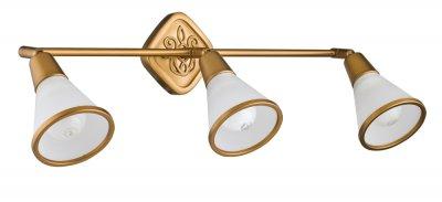 Светильинк поворотный спот Maytoni ECO008-03-G LutherТройные<br>Светильники-споты – это оригинальные изделия с современным дизайном. Они позволяют не ограничивать свою фантазию при выборе освещения для интерьера. Такие модели обеспечивают достаточно качественный свет. Благодаря компактным размерам Вы можете использовать несколько спотов для одного помещения.  Интернет-магазин «Светодом» предлагает необычный светильник-спот Maytoni ECO008-03-G по привлекательной цене. Эта модель станет отличным дополнением к люстре, выполненной в том же стиле. Перед оформлением заказа изучите характеристики изделия.  Купить светильник-спот Maytoni ECO008-03-G в нашем онлайн-магазине Вы можете либо с помощью формы на сайте, либо по указанным выше телефонам. Обратите внимание, что у нас склады не только в Москве и Екатеринбурге, но и других городах России.<br><br>S освещ. до, м2: 6<br>Тип цоколя: E14<br>Количество ламп: 3<br>Ширина, мм: 519<br>Глубина, мм: 100<br>Высота, мм: 202<br>MAX мощность ламп, Вт: 40