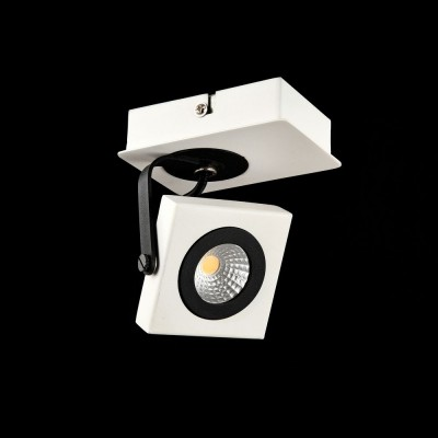 Спот Maytoni SP162-CW-01-W Magnetar 2Одиночные<br><br><br>S освещ. до, м2: 2<br>Тип лампы: LED<br>Тип цоколя: LED<br>Цвет арматуры: Белый<br>Количество ламп: 1<br>Ширина, мм: 100<br>Высота, мм: 94<br>MAX мощность ламп, Вт: 4