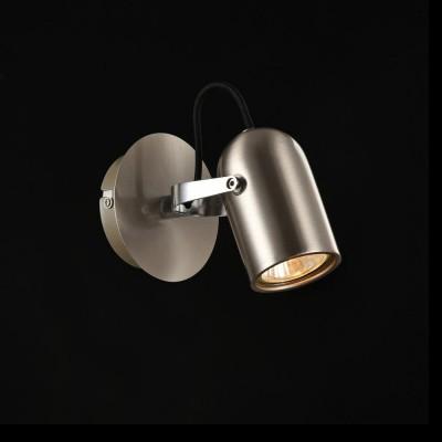 Спот Maytoni SP311-CW-01-N AlcorОдиночные<br><br><br>S освещ. до, м2: 3<br>Тип лампы: галогенная/LED<br>Тип цоколя: GU10<br>Цвет арматуры: серебристый никель<br>Количество ламп: 1<br>Диаметр, мм мм: 100<br>Высота, мм: 125<br>MAX мощность ламп, Вт: 50