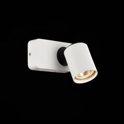 Спот Maytoni SP317-CW-01-W AlliotОдиночные<br><br><br>S освещ. до, м2: 2<br>Тип лампы: галогенная/LED<br>Тип цоколя: GU10<br>Цвет арматуры: Белый<br>Количество ламп: 1<br>Ширина, мм: 125<br>Высота, мм: 115<br>MAX мощность ламп, Вт: 35