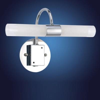 Eglo GRANADA 85816 светильник для ванной комнаты и зеркалДля картин/зеркал<br>Австрийское качество модели светильника Eglo 85816 не оставит равнодушным каждого купившего! Основание из литого алюминия, прорезиненные и силиконовые уплотнители, защита от коррозии металлов, термостойкое стекло, температурный режим использования от -25 до +80.<br><br>S освещ. до, м2: 5<br>Тип лампы: галогенная / LED-светодиодная<br>Тип цоколя: G9<br>Количество ламп: 2<br>MAX мощность ламп, Вт: 2<br>Размеры основания, мм: 0<br>Длина, мм: 295<br>Расстояние от стены, мм: 122<br>Высота, мм: 145<br>Оттенок (цвет): белый, прозрачный<br>Цвет арматуры: серебристый<br>Общая мощность, Вт: 2X33W