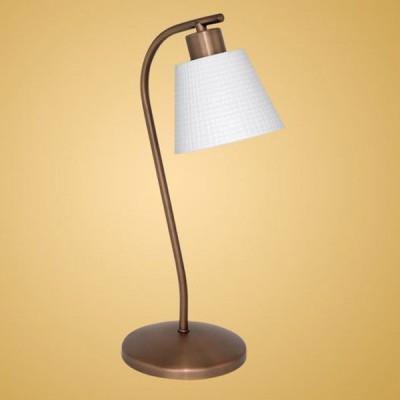 Eglo Fossano 90337 настольная лампаКлассические<br>Настольная лампа – неотъемлемый элемент функционального назначения и декора. И если она исполнена без видимых излишеств, но со вкусом и лаконичной простотой, то это верный выбор. К такому варианту относится настольная лампа серии Fossano от австрийского производителя Eglo. Мягко изогнутая конструкция бронзового сияния и аккуратный плафон белоснежного цвета, расположенные на деревянной тумбе или стеклянном журнальном столике с металлическими элементами, прекрасно дополнят интерьер.<br><br>S освещ. до, м2: 2<br>Тип лампы: накал-я - энергосбер-я<br>Тип цоколя: E14<br>Количество ламп: 1<br>Ширина, мм: 135<br>MAX мощность ламп, Вт: 40<br>Длина, мм: 175<br>Высота, мм: 375<br>Оттенок (цвет): белый<br>Цвет арматуры: бронзовый