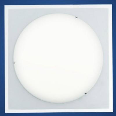 Eglo KELY 90582 Светильник настенно-потолочныйКвадратные<br>Настенно потолочный светильник Eglo (Эгло) 90582 подходит как для установки в вертикальном положении - на стены, так и для установки в горизонтальном - на потолок. Для установки настенно потолочных светильников на натяжной потолок необходимо использовать светодиодные лампы LED, которые экономнее ламп Ильича (накаливания) в 10 раз, выделяют мало тепла и не дадут расплавиться Вашему потолку.<br><br>S освещ. до, м2: 8<br>Тип лампы: накаливания / энергосбережения / LED-светодиодная<br>Тип цоколя: E27<br>Цвет арматуры: белый<br>Количество ламп: 2<br>Ширина, мм: 380<br>Длина, мм: 380<br>Высота, мм: 85<br>MAX мощность ламп, Вт: 60