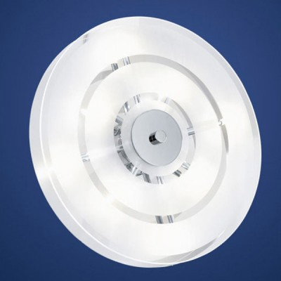 Eglo GENUA 1 90694 Светильник настенно-потолочныйКруглые<br>Австрийское качество модели светильника Eglo 90694 не оставит равнодушным каждого купившего! Матово-прозрачное закаленное стекло(пр-во Чехия), Хромированный корпус, Класс изоляции 2 (плоская вилка, двойная изоляция от вилки до лампы), IP 20, Экологически безопасные технологии.,D=370,8X20W,G4.<br><br>S освещ. до, м2: 10<br>Тип товара: Светильник настенно-потолочный<br>Скидка, %: 33<br>Тип лампы: галогенная / LED-светодиодная<br>Тип цоколя: G4<br>Количество ламп: 8<br>MAX мощность ламп, Вт: 20<br>Диаметр, мм мм: 370<br>Высота, мм: 100<br>Цвет арматуры: серебристый