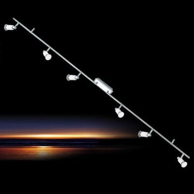 Eglo ERIDAN 90836 Светильник поворотный спотБолее 5 ламп<br>Светильники-споты – это оригинальные изделия с современным дизайном. Они позволяют не ограничивать свою фантазию при выборе освещения для интерьера. Такие модели обеспечивают достаточно качественный свет. Благодаря компактным размерам Вы можете использовать несколько спотов для одного помещения.  Интернет-магазин «Светодом» предлагает необычный светильник-спот Eglo 90836 по привлекательной цене. Эта модель станет отличным дополнением к люстре, выполненной в том же стиле. Перед оформлением заказа изучите характеристики изделия.  Купить светильник-спот Eglo 90836 в нашем онлайн-магазине Вы можете либо с помощью формы на сайте, либо по указанным выше телефонам. Обратите внимание, что у нас склады не только в Москве и Екатеринбурге, но и других городах России.<br><br>S освещ. до, м2: 3<br>Тип лампы: LED - светодиодная<br>Тип цоколя: GU10<br>Цвет арматуры: серебристый<br>Количество ламп: 6<br>Ширина, мм: 70<br>Размеры основания, мм: 0<br>Длина, мм: 1700<br>MAX мощность ламп, Вт: 2<br>Общая мощность, Вт: 6X5W