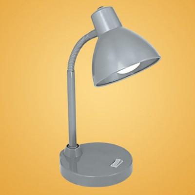 Eglo BIGRO 90879 настольная лампаОфисные<br>Настольная лампа – это не просто источник дополнительного освещения, но и оригинальный элемент декора. Его можно установить в спальне, гостиной, кабинете и других комнатах. Интернет-магазин «Светодом» предлагает настольные лампы разных стилей по доступным ценам. Благодаря большому ассортименту Вы обязательно найдете в нашем каталоге именно ту модель, которую искали.   Настольная лампа Eglo 90879 – прекрасный вариант для завершения интерьера. Ее можно включить одновременно с люстрой для более яркого освещения или без нее для создания уютной атмосферы, настраивающей на отдых.   Купить настольную лампу Eglo 90879 Вы можете с помощью виртуальной «Корзины» или по контактным номерам, указанным на сайте.<br><br>S освещ. до, м2: 2<br>Тип лампы: накал-я - энергосбер-я<br>Тип цоколя: E14<br>Количество ламп: 1<br>Ширина, мм: 150<br>MAX мощность ламп, Вт: 40<br>Высота, мм: 300<br>Цвет арматуры: серый