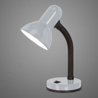 Eglo BASIC 1 90977 Офисная настольная лампаофисные настольные лампы<br>Настольная лампа – это не просто источник дополнительного освещения, но и оригинальный элемент декора. Его можно установить в спальне, гостиной, кабинете и других комнатах. Интернет-магазин «Светодом» предлагает настольные лампы разных стилей по доступным ценам. Благодаря большому ассортименту Вы обязательно найдете в нашем каталоге именно ту модель, которую искали.   Настольная лампа Eglo 90977 – прекрасный вариант для завершения интерьера. Ее можно включить одновременно с люстрой для более яркого освещения или без нее для создания уютной атмосферы, настраивающей на отдых.   Купить настольную лампу Eglo 90977 Вы можете с помощью виртуальной «Корзины» или по контактным номерам, указанным на сайте.<br><br>S освещ. до, м2: 4<br>Тип лампы: накал-я - энергосбер-я<br>Тип цоколя: E27<br>Цвет арматуры: серебристый<br>Количество ламп: 1<br>Размеры основания, мм: 125<br>Высота, мм: 300<br>MAX мощность ламп, Вт: 2<br>Общая мощность, Вт: 1X40W