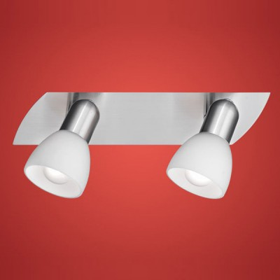 Eglo ENEA 90984 Светильник поворотный спотДвойные<br>Светильники-споты – это оригинальные изделия с современным дизайном. Они позволяют не ограничивать свою фантазию при выборе освещения для интерьера. Такие модели обеспечивают достаточно качественный свет. Благодаря компактным размерам Вы можете использовать несколько спотов для одного помещения.  Интернет-магазин «Светодом» предлагает необычный светильник-спот Eglo 90984 по привлекательной цене. Эта модель станет отличным дополнением к люстре, выполненной в том же стиле. Перед оформлением заказа изучите характеристики изделия.  Купить светильник-спот Eglo 90984 в нашем онлайн-магазине Вы можете либо с помощью формы на сайте, либо по указанным выше телефонам. Обратите внимание, что у нас склады не только в Москве и Екатеринбурге, но и других городах России.<br><br>S освещ. до, м2: 5<br>Тип лампы: накал-я - энергосбер-я<br>Тип цоколя: E14<br>Количество ламп: 2<br>Ширина, мм: 70<br>MAX мощность ламп, Вт: 2<br>Размеры основания, мм: 0<br>Длина, мм: 300<br>Оттенок (цвет): белый<br>Цвет арматуры: серый<br>Общая мощность, Вт: 2X40W