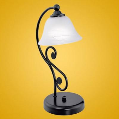 Eglo MURCIA 91007 Настольная лампаСовременные<br>Настольная лампа – это не просто источник дополнительного освещения, но и оригинальный элемент декора. Его можно установить в спальне, гостиной, кабинете и других комнатах. Интернет-магазин «Светодом» предлагает настольные лампы разных стилей по доступным ценам. Благодаря большому ассортименту Вы обязательно найдете в нашем каталоге именно ту модель, которую искали.   Настольная лампа Eglo 91007 – прекрасный вариант для завершения интерьера. Ее можно включить одновременно с люстрой для более яркого освещения или без нее для создания уютной атмосферы, настраивающей на отдых.   Купить настольную лампу Eglo 91007 Вы можете с помощью виртуальной «Корзины» или по контактным номерам, указанным на сайте.<br><br>S освещ. до, м2: 2<br>Тип лампы: накаливания / энергосбережения / LED-светодиодная<br>Тип цоколя: E14<br>Цвет арматуры: черный<br>Количество ламп: 1<br>Размеры основания, мм: 150<br>Длина, мм: 165<br>Высота, мм: 370<br>Оттенок (цвет): белый<br>MAX мощность ламп, Вт: 2<br>Общая мощность, Вт: 1X40W