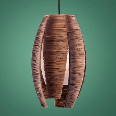 Eglo MONGU 91008 Светильник подвеснойОдиночные<br>Австрийское качество модели светильника Eglo 91008 не оставит равнодушным каждого купившего! Закаленное стекло ручной работы с тиснением (пр-во Чехия), дополнительный внешний плафон из натурального материала(лубяное волокно). Основание сталь. Класс изоляции 2 (двойная изоляция до лампы), IP 20, освещенность 806 lm.,Н=1100D=190,1X60W,E27.<br><br>S освещ. до, м2: 4<br>Тип лампы: накаливания / энергосбережения / LED-светодиодная<br>Тип цоколя: E27<br>Цвет арматуры: коричневый<br>Количество ламп: 1<br>Диаметр, мм мм: 190<br>Размеры основания, мм: 0<br>Высота, мм: 1100<br>Оттенок (цвет): коричневый, белый<br>MAX мощность ламп, Вт: 2<br>Общая мощность, Вт: 1X60W