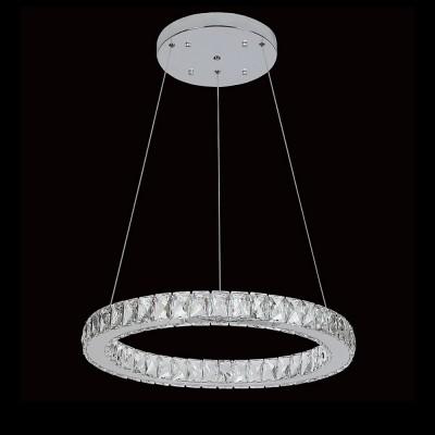Люстра Eletto EL330P40.1 OlimpiaПодвесные<br><br><br>S освещ. до, м2: 16<br>Цветовая t, К: 3000K-4500K<br>Тип лампы: LED<br>Тип цоколя: LED<br>Количество ламп: 40<br>MAX мощность ламп, Вт: 1W<br>Диаметр, мм мм: 600<br>Высота, мм: 600 - 1100
