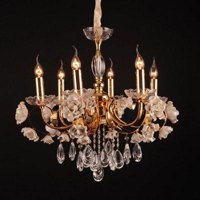 Светильник Eletto EL345P06.1Под заказ<br><br><br>Тип лампы: накал-я - энергосбер-я<br>Тип цоколя: Е14<br>Количество ламп: 6