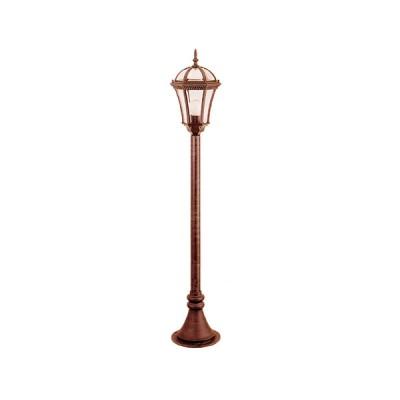 Светильник уличный EL-640PE2 черное золото (тонкий столб)Уличные светильники-столбы<br>Обеспечение качественного уличного освещения – важная задача для владельцев коттеджей. Компания «Светодом» предлагает современные светильники, которые порадуют Вас отличным исполнением. В нашем каталоге представлена продукция известных производителей, пользующихся популярностью благодаря высокому качеству выпускаемых товаров. <br> Уличный светильник Degran EL-640PE2 черное золото не просто обеспечит качественное освещение, но и станет украшением Вашего участка. Модель выполнена из современных материалов и имеет влагозащитный корпус, благодаря которому ей не страшны осадки. <br> Купить уличный светильник Degran EL-640PE2 черное золото, представленный в нашем каталоге, можно с помощью онлайн-формы для заказа. Чтобы задать имеющиеся вопросы, звоните нам по указанным телефонам.<br><br>Тип лампы: накаливания / энергосбережения / LED-светодиодная<br>Тип цоколя: E27<br>Цвет арматуры: золотой<br>Ширина, мм: 210<br>Высота, мм: 1060<br>MAX мощность ламп, Вт: 60