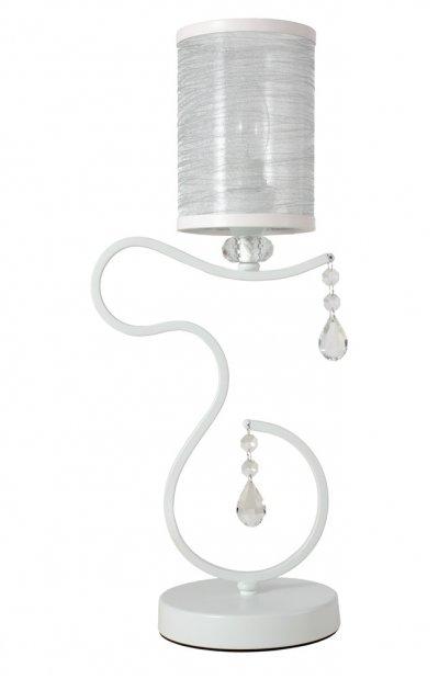 Купить со скидкой Настольная лампа ELISA WHITE LG1 (1631/501) Crystal lux
