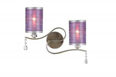 Купить со скидкой Светильник настенный бра Crystal lux ELISA AP2 1630/402