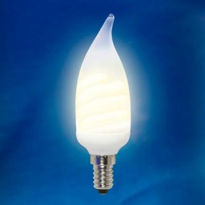 Лампа UNIEL ESL-C11-W11/2700/E14 картонКомпактные ЛЛ<br><br><br>Тип товара: Лампа<br>Цветовая t, К: WW - теплый белый 2700-3000 К<br>Тип лампы: люминесцентная<br>Тип цоколя: E14<br>MAX мощность ламп, Вт: 60<br>Диаметр, мм мм: 36<br>Высота, мм: 118