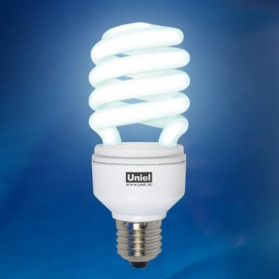 Лампа ESL-H32-25/4200/E27Спиральные<br><br><br>Тип товара: Лампа<br>Цветовая t, К: CW - холодный белый 4000 К<br>Тип лампы: Энергосберегающая<br>Тип цоколя: E27<br>MAX мощность ламп, Вт: 25<br>Диаметр, мм мм: 50<br>Высота, мм: 134