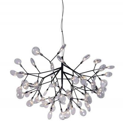 Купить со скидкой Светильник подвесной EVITA SP63 BLACK/TRANSPARENT (1690/263) Crystal lux