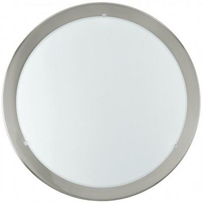 Eglo LED PLANET 31254 Настенно-потолочные светильникиКруглые<br><br><br>S освещ. до, м2: 12<br>Цветовая t, К: 3000 (теплый белый)<br>Тип лампы: накаливания / энергосберегающая / светодиодная<br>Тип цоколя: LED<br>Цвет арматуры: никель матовый<br>Количество ламп: 1<br>Диаметр, мм мм: 290<br>Размеры основания, мм: 0<br>Выступ, мм: 85<br>Расстояние от стены, мм: 85<br>Поверхность арматуры: матовый<br>Оттенок (цвет): белый, прозрачный<br>MAX мощность ламп, Вт: 30<br>Общая мощность, Вт: 12W