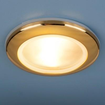 Светильник Elektrostandart 1080 золотоКруглые<br>Пылевлагозащенность: IP44 Лампа: MR16 G5.3 max 50 Вт Диаметр: #216; 93 мм Высота внутренней части: ? 20 мм Высота внешней части: ? 12 мм Монтажное отверстие: #216; 65 мм Гарантия: 2 года<br><br>S освещ. до, м2: 3<br>Тип лампы: галогенная<br>Тип цоколя: gu5.3<br>Количество ламп: 1<br>MAX мощность ламп, Вт: 50<br>Диаметр, мм мм: 93<br>Выступ, мм: 12<br>Диаметр врезного отверстия, мм: 65<br>Оттенок (цвет): золотой<br>Цвет арматуры: Золотой