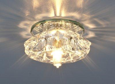 6186 G9 CL прозрачный Электростандарт Точечный светильникКруглые встраиваемые светильники<br>Лампа: G9 max 40 Вт Диаметр: ? 100 мм Высота внутренней части: ? 22 мм Высота внешней части: ? 43 мм Монтажное отверстие: ? 55 мм Гарантия: 2 года<br><br>Тип лампы: галогенная<br>Тип цоколя: G9<br>Диаметр, мм мм: 96<br>Диаметр врезного отверстия, мм: 60<br>Высота, мм: 80<br>MAX мощность ламп, Вт: 40