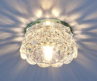6240 зеркальный / прозрачный (Clear) Электростандарт Точечный светильникКруглые встраиваемые светильники<br>Лампа: G9, max 40 Вт Диаметр: ? 96 мм Высота внутренней части: ? 36 мм Высота внешней части: ? 42 мм Монтажное отверстие: ? 55 мм Гарантия: 2 года<br><br>Тип лампы: галогенная<br>Тип цоколя: G9<br>Диаметр, мм мм: 95<br>Диаметр врезного отверстия, мм: 60<br>Высота, мм: 80<br>MAX мощность ламп, Вт: 40