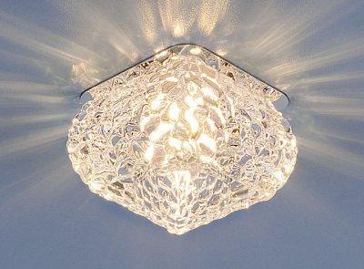8506 хром/прозрачный (CH/Сlear) Электростандарт Точечный светильник