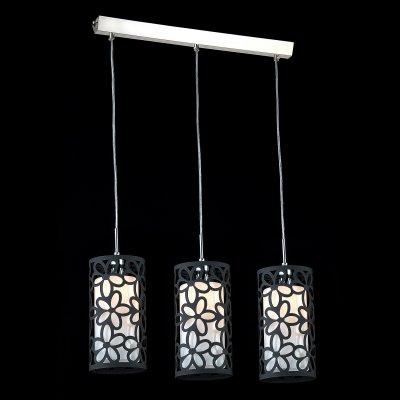 Светильник Maytoni F005-33-N F005Тройные<br><br><br>Крепление: планка<br>Тип товара: Подвесной светильник<br>Скидка, %: 30<br>Тип лампы: накаливания / энергосбережения / LED-светодиодная<br>Тип цоколя: E14<br>Количество ламп: 3<br>Ширина, мм: 140<br>MAX мощность ламп, Вт: 40<br>Длина цепи/провода, мм: 700<br>Длина, мм: 600<br>Высота, мм: 300 - 1000<br>Цвет арматуры: серый