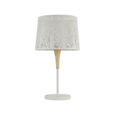 Настольная лампа Maytoni F029-TL-01-W LanternСовременные настольные лампы модерн<br><br><br>Тип лампы: Накаливания / энергосбережения / светодиодная<br>Тип цоколя: E27<br>Цвет арматуры: белый<br>Количество ламп: 1<br>Диаметр, мм мм: 350<br>Высота, мм: 620<br>Поверхность арматуры: матовая<br>Оттенок (цвет): Белый<br>MAX мощность ламп, Вт: 40