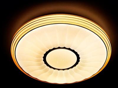 Светильник Ambrella F11 CF 72W D400 ORBITAL Многофункциональный (ПДУ)потолочные светильники с пультом<br>Потолочный светодиодный светильник с пультом F11 CF 72W D400 – продукт российской компании Ambrella, известной качеством и доступностью выпускаемой светотехники. Дизайн модели сделан в стиле модерн, материалы изготовления – металл и пластик. Степень пылевлагозащиты IP20, поэтому использовать устройство можно только в сухих помещениях. Патрон рассчитан на лампочки с цоколем 1xLED. Максимальная мощность в 72 Вт позволяет освещать 14 кв. м. Заказывайте потолочный светодиодный светильник с пультом F11 CF 72W D400 с удобной доставкой на нашем сайте.<br><br>S освещ. до, м2: 14<br>Цветовая t, К: 3000-6000 от теплого до холодного<br>Тип лампы: Светодиодный модуль<br>Тип цоколя: LED<br>Цвет арматуры: Белый<br>Количество ламп: 1<br>Диаметр, мм мм: 400<br>Высота, мм: 85<br>Оттенок (цвет): белый<br>MAX мощность ламп, Вт: 72