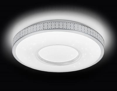 Светильник Ambrella F81 72W D400 ORBITAL Многофункциональный (ПДУ)потолочные светильники с пультом<br>Потолочный светодиодный светильник с пультом F81 72W D400 – продукт российской компании Ambrella, известной качеством и доступностью выпускаемой светотехники. Дизайн модели сделан в стиле модерн, материалы изготовления – металл и пластик. Степень пылевлагозащиты IP20, поэтому использовать устройство можно только в сухих помещениях. Патрон рассчитан на лампочки с цоколем 1xLED. Максимальная мощность в 72 Вт позволяет освещать 14 кв. м. Заказывайте потолочный светодиодный светильник с пультом F81 72W D400 с удобной доставкой на нашем сайте.<br><br>S освещ. до, м2: 14<br>Крепление: планка<br>Цветовая t, К: от теплого до холодного<br>Тип лампы: Светодиодный модуль<br>Тип цоколя: LED<br>Цвет арматуры: Белый<br>Количество ламп: 1<br>Диаметр, мм мм: 405<br>Высота, мм: 80<br>Оттенок (цвет): белый<br>MAX мощность ламп, Вт: 90W+60W