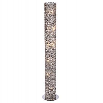 Торшер Crystal lux FASHION PT6 1720/606современные торшеры<br>Торшер – это не просто функциональный предмет интерьера, позволяющий обеспечить дополнительное освещение, но и оригинальный декоративный элемент. Интернет-магазин «Светодом» предлагает стильные модели от известных производителей по доступным ценам. У нас Вы найдете и классические напольные светильники, и современные варианты.   Торшер FASHION PT6 Crystal lux сразу же привлекает внимание благодаря своему необычному дизайну. Модель выполнена из качественных материалов, что обеспечит ее надежную и долговечную работу. Такой напольный светильник можно использовать для интерьера не только гостиной, но и спальни или кабинета.   Купить торшер FASHION PT6 Crystal lux по выгодной стоимости Вы можете с помощью нашего сайта. У нас склады в Москве, Екатеринбурге, Санкт-Петербурге, Новосибирске и другим городам России.<br><br>Тип цоколя: G9<br>Цвет арматуры: Серебристый никель<br>Количество ламп: 6<br>Диаметр, мм мм: 250<br>Высота, мм: 1520<br>MAX мощность ламп, Вт: 60