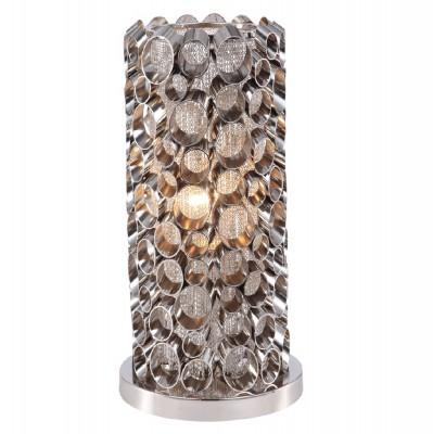 Настольная лампа Crystal lux FASHION TL1 1720/501Современные настольные лампы модерн<br>Настольная лампа – это не просто источник дополнительного освещения, но и оригинальный элемент декора. Его можно установить в спальне, гостиной, кабинете и других комнатах. Интернет-магазин «Светодом» предлагает настольные лампы разных стилей по доступным ценам. Благодаря большому ассортименту Вы обязательно найдете в нашем каталоге именно ту модель, которую искали.   Настольная лампа Crystal lux FASHION TL1 – прекрасный вариант для завершения интерьера. Ее можно включить одновременно с люстрой для более яркого освещения или без нее для создания уютной атмосферы, настраивающей на отдых.   Купить настольную лампу Crystal lux FASHION TL1 Вы можете с помощью виртуальной «Корзины» или по контактным номерам, указанным на сайте.<br><br>Тип цоколя: E27<br>Цвет арматуры: Серебристый никель<br>Количество ламп: 1<br>Диаметр, мм мм: 160<br>Высота, мм: 320<br>MAX мощность ламп, Вт: 60