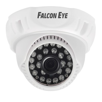 Видеокамера FE-D720MHD/20M Falcon eyeMHD камеры<br>Характеристики:<br><br>   <br><br><br>Матрица<br>1/4   HD CMOS H42<br><br><br>Процессор<br>FH8532<br><br><br>Разрешение<br>1.0M<br><br><br>Эффект.   Пикселей<br>1280(H)?800(V)<br><br><br>Эл. Затвор<br>1/50(1/60)~1/100000sec<br><br><br>Формат<br>PAL/   NTSC<br><br><br>Синхронизация<br>Внутренняя<br><br><br>Сигнал/шум<br>Более   50dB (AGC выкл.)<br><br><br>Чувствительность<br>0.05LUX/F1.2(AGC   Вкл.)<br><br><br>Видеовыход<br>1CH AHD/TVI/CVI/CVBS выход<br><br><br>Характеристики<br><br><br><br>ИК подсветка<br>24   ИК диода, 20M , Smart IR<br><br><br>День/Ночь<br>ИК   фильтр, Автопереключение<br><br><br>OSD меню<br>Нет<br><br><br>Шумоподавление<br>/<br><br><br>BLC<br>Авто<br><br><br>AGC<br>Авто<br><br><br>WDR<br>/<br><br><br>Баланс белого<br>Авто<br><br><br>Объектив<br><br><br><br>Фокусное растояние<br>3.6mm<br><br><br>Крепление<br>M12<br><br><br>Общее<br><br><br><br>Питание<br>DC12V±10%<br><br><br>Рабочая температура<br>0??+50?<br><br><br>Потребление<br>100mA   , Max 260mA ( ИК вкл.)<br><br><br>Дальность передачи видео<br>До   500m коаксиальным кабелем 75-3<br><br><br>Степень защиты<br>Нет   (пластиковый корпус)<br><br><br>Размеры(Д?Ш?В)<br>?112   X79 MM<br><br><br>Вес<br>280 г.<br>