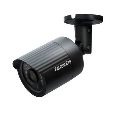 IP камера FE-IPC-BL100P Falcon eyeIP камеры<br>Описание:<br>Бюджетная линейкасетевых видеокамер Falcon Eye<br> представлена камерами: уличной FE-IPC-BL100P и купольной FE-IPC-DL100P.<br> Камеры построены на CMOS матрице OmniVision 1/4, с разрешением 1.3 <br>мегапикселя. На камере установлен объектив с фокусным расстоянием 2,8 <br>мм, что при матрице такого размера будет давать угол обзора, <br>сопоставимый с объективом 3,6мм. Камера выполнена в миниатюрном <br>металлическом корпусе испособна выдавать в сеть видео поток с <br>разрешением 1280х720Р. Возможность работать по Poe является <br>дополнительнымбонусом в такой ценовой категории.<br>Характеристики:<br><br><br><br>Сенсор<br>1/4OV1.3 mega Progressive scan CMOS<br><br><br>Мин. освещенность<br>0Lux/F1.4 Ик ВКЛ<br><br><br>Скорость затвора<br>Auto/Manual?1/25~1/10000<br><br><br>День/ночь<br>Auto/B/W/Color/EXT ICR switching<br><br><br>Функционал<br>DWDR, 3D NК<br><br><br>Дистанция подсветки<br>до 20-30м(30x?5)<br><br><br>Объектив<br>2.8mm M12 2Mega<br><br><br>Сжатие<br>H.264<br><br><br>Декодирование<br>Dual-stream,Main stream PAL?1280X720 25fps?NTSC:1280X720 30fps<br><br><br>Разрешение<br>1280X720<br><br><br>Видео Bit rate<br>1024Kbps-6144Kbps<br><br><br>Мобильные платформы<br>Apple, Android<br><br><br>Сетевые протоколы<br>TCP/IP,UDP,HTTP,DHCP,RTP/RTSP,DNS,DDNS,NTP,PPPOE,UPNP,SMTP<br><br><br>Port протоколы<br>I8?ONVIF<br><br><br>Интерфейс<br>RJ45 10M/100M adaptive<br><br><br>Раб. температура<br>-45°C ~ 55°C/0?-90?<br><br><br>Питание<br>DC12V/POE optional<br><br><br>Потр. мощность<br>менее 5W<br><br><br>Размеры<br>66(W)*66(H)*166.7(L)mm<br><br><br>Вес, кг<br>0,4<br>